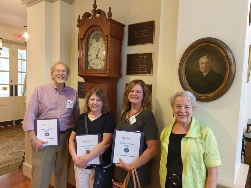 Welcome to New Family History Docents